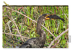 Anhinga And Fish  Carry-all Pouch