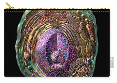 Animal Cell Carry-all Pouch by Russell Kightley