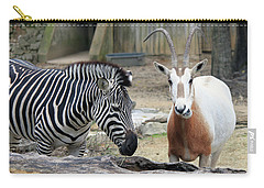 Animal Friends Carry-all Pouch by Suhas Tavkar