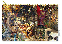 Animal Masks From Venice Carry-all Pouch