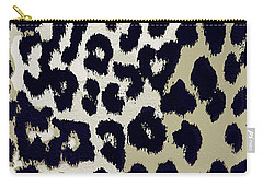 Animal Print  Carry-all Pouch by Mindy Sommers