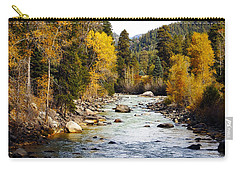 Carry-all Pouch featuring the photograph Animas River by Kurt Van Wagner
