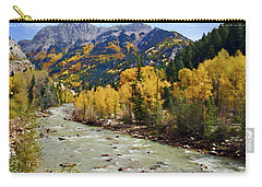 Carry-all Pouch featuring the photograph Animas River San Juan Mountains Colorado by Kurt Van Wagner
