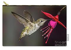 Anna Immature Hummingbird Carry-all Pouch