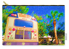 Anna Maria Elementary School Bus C131270 Carry-all Pouch