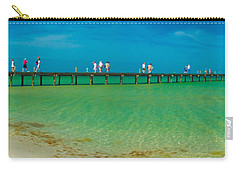 Anna Maria Island Historic City Pier Panorama Carry-all Pouch