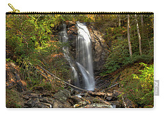 Carry-all Pouch featuring the photograph Anna Rby Falls 3 by Penny Lisowski