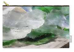 Annabelle's Beach Glass Carry-all Pouch by Aliceann Carlton