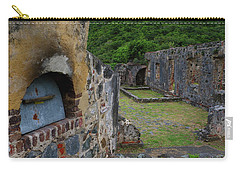 Carry-all Pouch featuring the photograph Annaberg Sugar Mill Ruins At U.s. Virgin Islands National Park by Jetson Nguyen