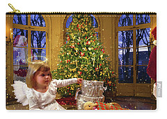 Annalise And Santa Carry-all Pouch