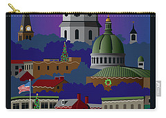 Annapolis Holiday With Title Carry-all Pouch