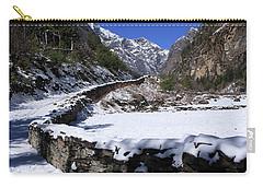Annapurna Circuit Trail Carry-all Pouch by Aidan Moran