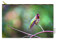 Anna's Hummingbird II Carry-all Pouch