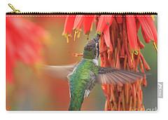 Carry-all Pouch featuring the photograph Annas Garden by John F Tsumas
