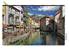 Annecy River View Carry-all Pouch