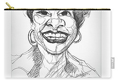 Annette Caricature Carry-all Pouch