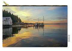 Anniversary Sunset Carry-all Pouch by Ronda Broatch