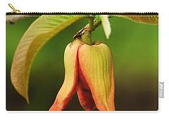 Annona Purpurea Flower Carry-all Pouch