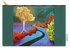 Golden Aura Carry-all Pouch by Elizabeth Fontaine-Barr