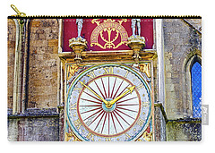 Anotomical Clock At Wells, Uk Carry-all Pouch
