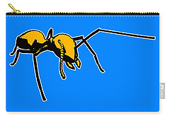 Ant Graphic  Carry-all Pouch by Pixel  Chimp