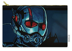 Ant Man Painting Carry-all Pouch by Paul Meijering