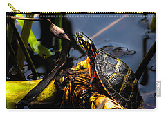 Ant Meets Turtle Carry-all Pouch by Bob Orsillo
