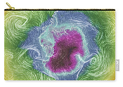 Antarctica Abstract Carry-all Pouch