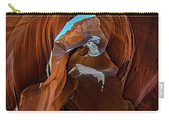 Carry-all Pouch featuring the photograph Antelope Canyon 16 by Phil Abrams