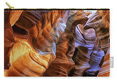 Antelope Canyon Carry-all Pouch by Dominic Piperata