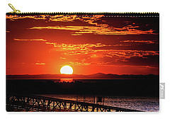 Antelope Island Marina Sunset Carry-all Pouch