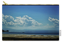 Antelope Island, Utah Carry-all Pouch by Cynthia Powell