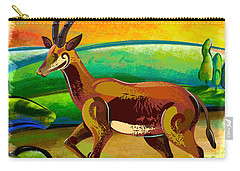 Antelope Of The Valley Carry-all Pouch
