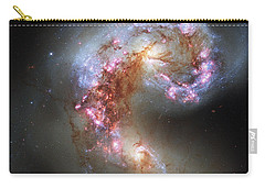 Carry-all Pouch featuring the photograph Antennae Galaxies Reloaded by Nasa