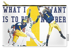 Anthony Carter And Braylon Edwards, #1 Carry-all Pouch