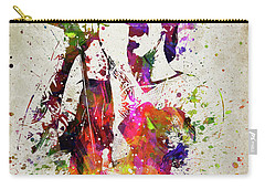 Anthony Kiedis In Color Carry-all Pouch by Aged Pixel