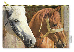 Carry-all Pouch featuring the digital art Anticipation by Colleen Taylor