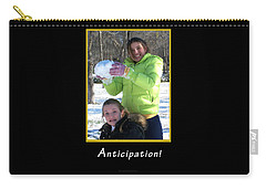 Anticipation Carry-all Pouch