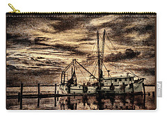Antique Boat Carry-all Pouch