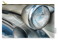 Antique Car Headlight And Reflections Carry-all Pouch