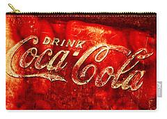 Antique Coca-cola Cooler Carry-all Pouch