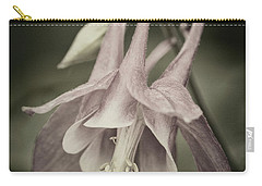 Carry-all Pouch featuring the photograph Antique Columbine - D010096 by Daniel Dempster