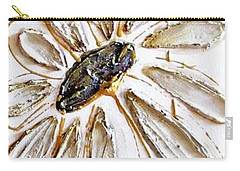 Antique Daisies Carry-all Pouch