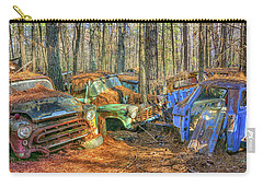 Antique Trucks Carry-all Pouch