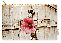 Antique Flower Carry-all Pouch