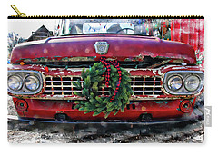 Antique Ford Christmas Carry-all Pouch