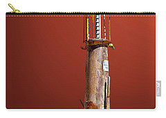 Antique Gas Pump Carry-all Pouch by Phyllis Denton