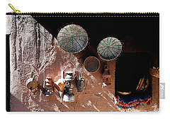 Carry-all Pouch featuring the photograph Antique Lanterns by Andrew Fare