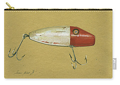 Antique Lure Bait Carry-all Pouch