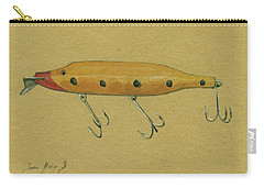 Antique Lure Carry-all Pouch